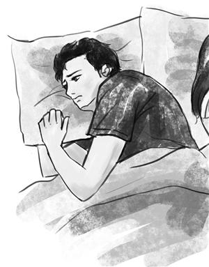 哭,隋一苗的笑;即便是睡着了,也会因为想到隋一苗而突然心痛地醒过来.图片